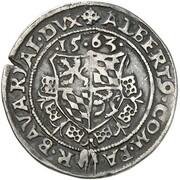 10 Kreuzer - Albert V der Großmütige – avers