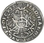 10 Kreuzer - Albert V der Großmütige – revers