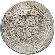 ½ guldentaler Albert V – avers