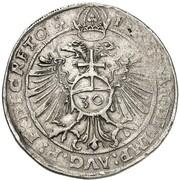 ½ guldentaler Albert V – revers