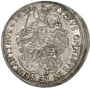 ½ thaler Maximilian II Emanuel – revers