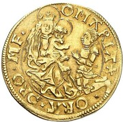 1 Goldgulden - Albert IV – revers