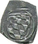 1 Pfennig (Vierschlag-Pfennig) - Albrecht IV. -  revers