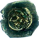 1 pfennig Ernst I. et Adolf (Munich) – avers