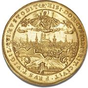 5 Ducat -Maximilian I (Trade Coinage) – revers
