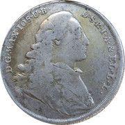 ½ taler Maximilan III Joseph – avers