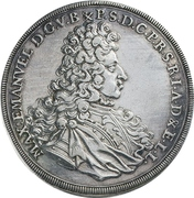 1 Konventionsthaler - Maximilian II – avers