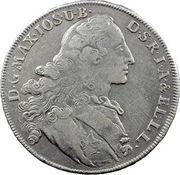 1 thaler - Maximilian III Joseph – avers