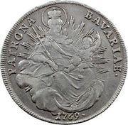1 thaler - Maximilian III Joseph – revers