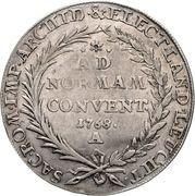 1 Konventionsthaler - Josef Maximilian III – revers