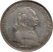 1 thaler - Maximilian Josef – avers