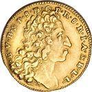 ½ Maximilian d'or - Maximilian II Emanuel – avers