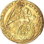 ½ Maximilian d'or - Maximilian II Emanuel – revers