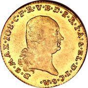 1 ducat - Maximilian I Joseph – avers