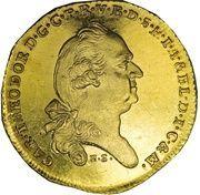 1 ducat Karl Theodor (Inngold-Dukat) – avers