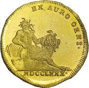 1 ducat Karl Theodor (Inngold-Dukat) – revers
