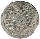 1 kreuzer Maximilian II. – revers