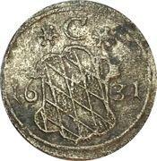 1 Pfennig - Maximilian I. – avers