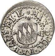 1 Kreuzer - Ferdinand II. – avers