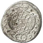 1 Kreuzer - Maximilian II. Emanuel – revers