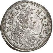 1 Kreuzer - Maximilian II. Emanuel – avers