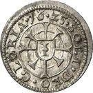 1 kreuzer Maximilian I – revers