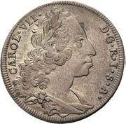 6 kreuzer Charles VII du Saint-Empire – avers