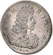 30 kreuzer Maximilian II – avers