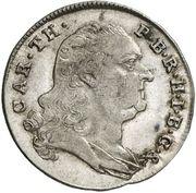 6 kreuzer Karl Theodor – avers