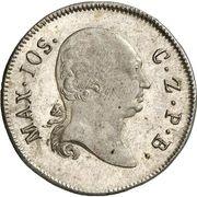 6 Kreuzer Maximilian I Joseph – avers