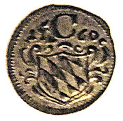 1 Pfenning - Maximilian III – avers