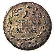1 Pfenning - Maximilian III – revers