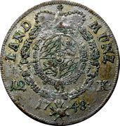 12 kreuzer - Maximilian III Joseph – revers