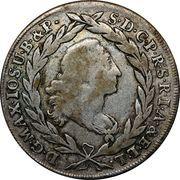 20 kreuzer - Maximilian III Joseph – avers