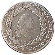 10 kreuzer Karl IV Theodor (Konventionskreuzer) – avers
