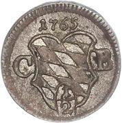 ½ Kreuzer - Maximilian III. – avers