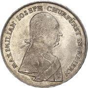 1 Konventionsthaler - Maximilian IV. – avers