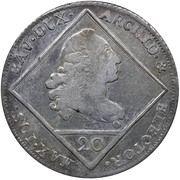 20 kreuzer Maximillian III Joseph – avers