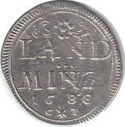 10 Pfennig - Maximilian II, Emanuel – revers