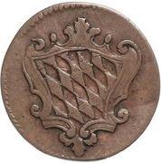 1 Pfenning - Maximilian IV, Josef – avers