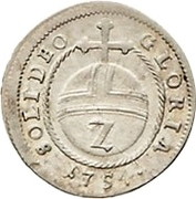 2 Kreuzer - Maximilian Josef III – revers