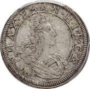 3 kreuzer - Maximilian II Emanuel – avers