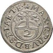 2 kreuzer Maximilian I – avers
