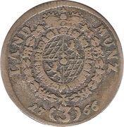 3 kreuzer - Maximilian III Joseph – revers