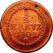 ½ kreuzer Maximilian IV Joseph – revers
