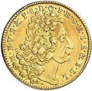 1 Maximilian d'Or - Emanuel Maximilian II – avers
