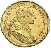 1 Ducat - Maximilian III Joseph (Inngold-Dukat) – avers