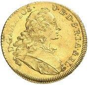 1 Ducat - Maximilian III Joseph (Isargold-Dukat) – avers