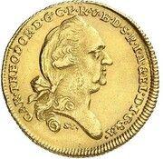 1 Ducat - Karl Theodor (Donaugold-Dukat) – avers
