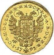 1 ducat Karl Theodor (Vikariat) – revers